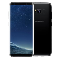 New Samsung Galaxy S8 Dual SIM 64GB 4G LTE Smartphone Midnight Black